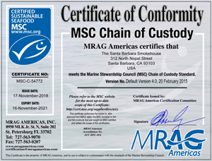 Marine Stewardship Council Certification